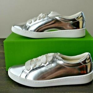 kate spade new york Ace Leather Specchio Silver